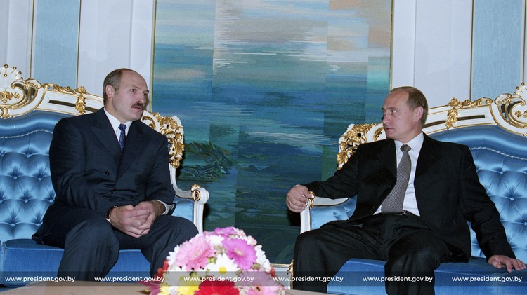 Встреча с председателем правительства РФ Владимиром Путиным, 1999
