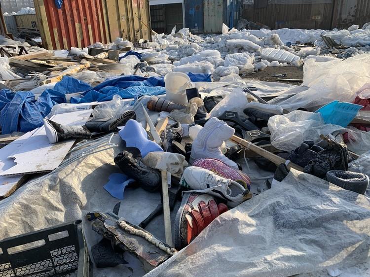 Среди строительного мусора есть и неликвидный товар