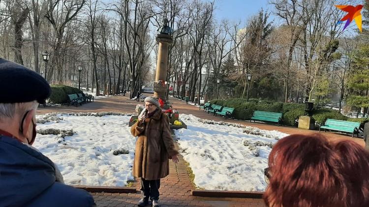 В центре Кишинева прозвучали стихи Пушкина не только на русском, но и на английском, молдавском, украинском, французском и даже греческом языках.