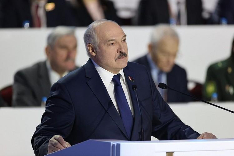 Александр Лукашенко затронул огромный спектр тем на ВНС и несколько раз называл условия своего ухода. Фото: БелТА.