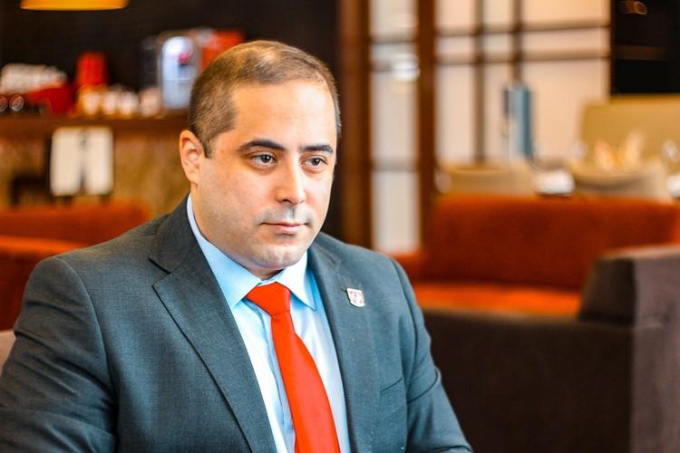 Сербский политик Миша Вацич проехал по России.