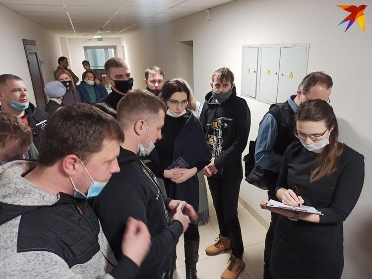 Поддержать Кордюкова в суд пришли родственники и друзья.