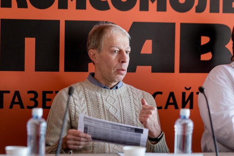 Генеральный директор компании «КЭМП» Яков Гуревич