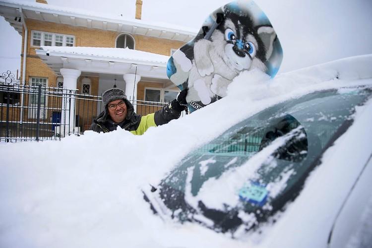 США накрыл небывалый мороз, который принес с собой сильнейшие снегопады и даже торнадо.