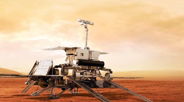 """Компьютерное моделирование будущей миссии """"ЭкзоМарс"""". Фото: Роскосмос"""