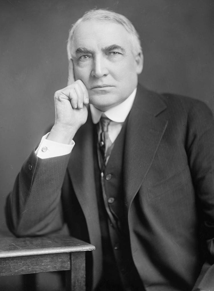 Уоррен Гардинг находился у власти всего два года. Фото: Библиотека Конгресса США