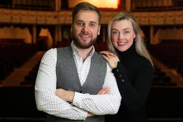 Оперные певцы Марта Данусевич и Тарас Присяжнюк вместе и на сцене, и на репетициях, и дома.