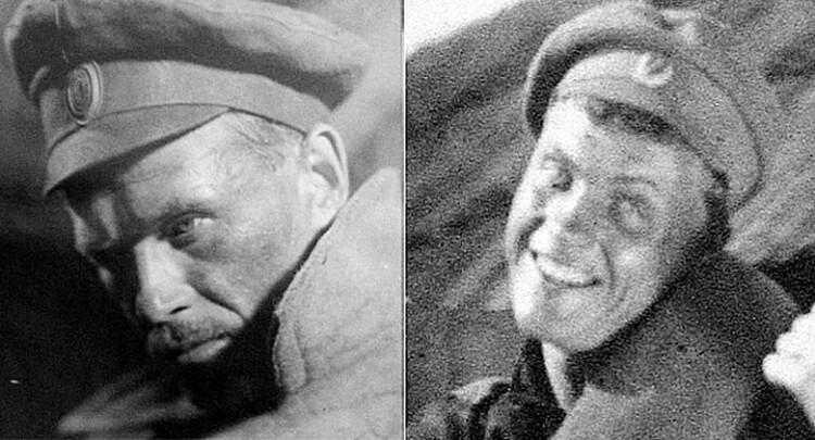 Бабочкин и Кмит появились сначала в картине «Первый взвод» классика белорусского кино Владимира Корш-Саблина. Фото: личный архив