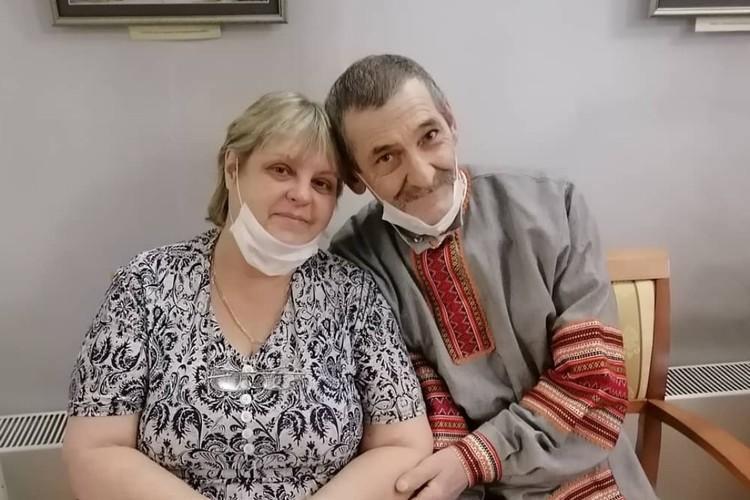 Игорь со своей любимой женой Екатериной. Фото: личный архив Игоря Перевалова