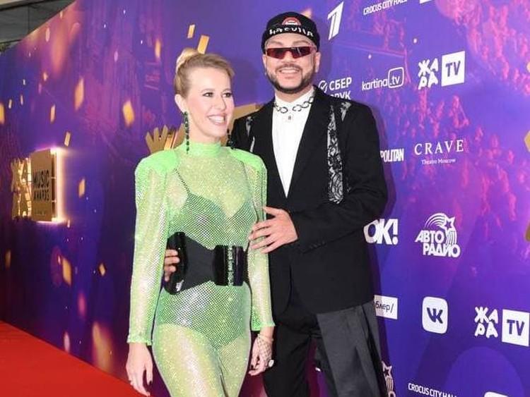 Ксения Собчак и Филипп Киркоров.