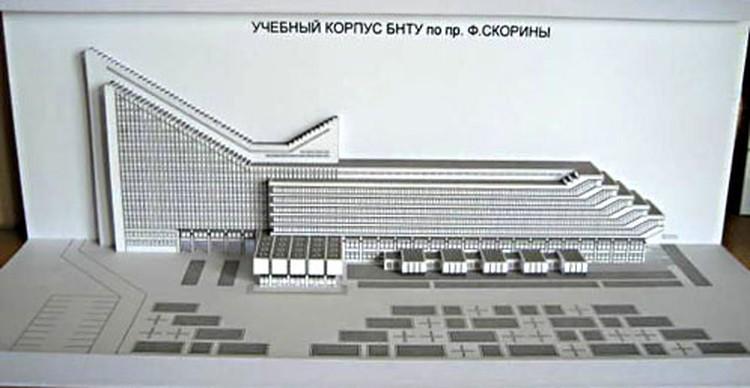 Не все минчане знают, что автором знаменитого «лайнера» на въезде в столицу является архитектор Игорь Есьман.