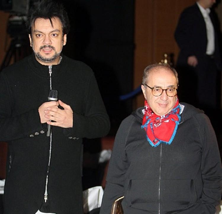На концерт Филипп Киркоров пришел со своим адвокатом.