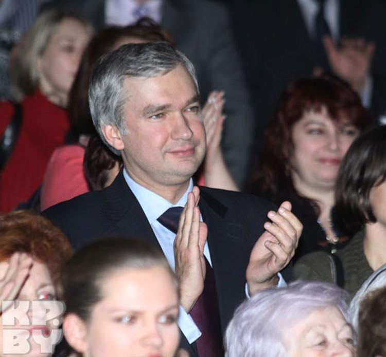 Министр культуры Павел Латушко аплодировал стоя.