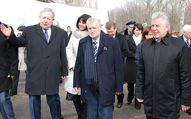 На открытие галереи Космонавтики приехал спикер Совета Федерации Сергей Миронов.