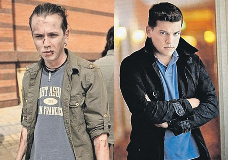 Сына Саши Белого Ваню сыграл Иван Макаревич (слева). А его друга Фила - Кирилл Нагиев (справа).