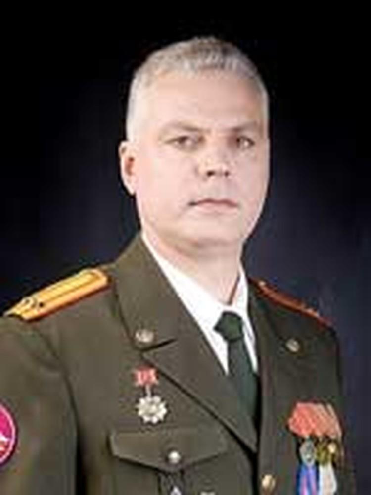 Михаил Севостьянович Долгов.