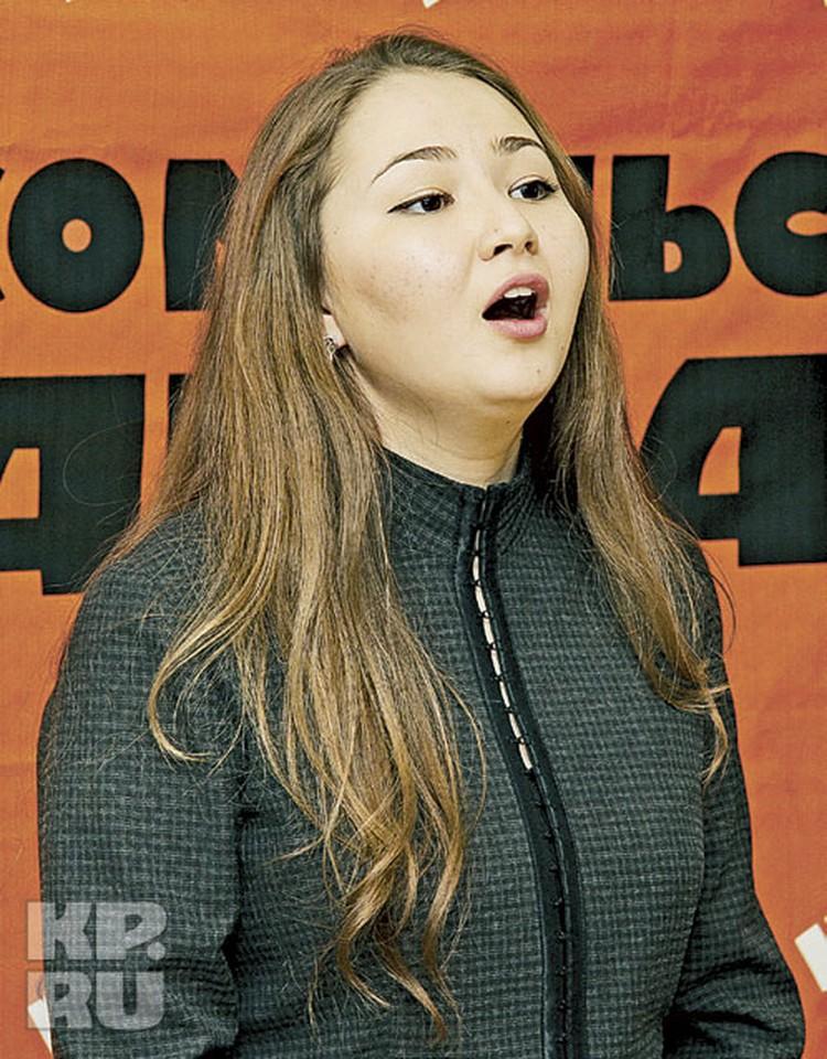 Будущий юрист Карина Ишмухаметова любит классику,  и даже кумир у нее Ильдар Абдразаков