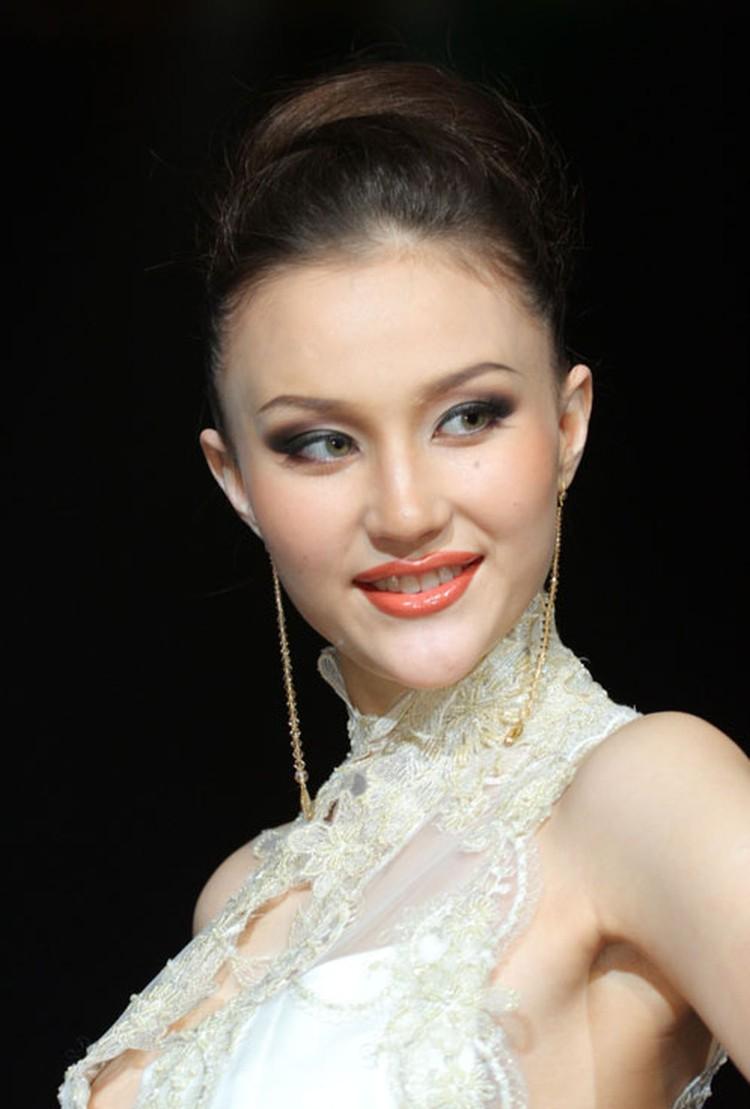 Первая красавица Якутии Анастасия Санитарова.