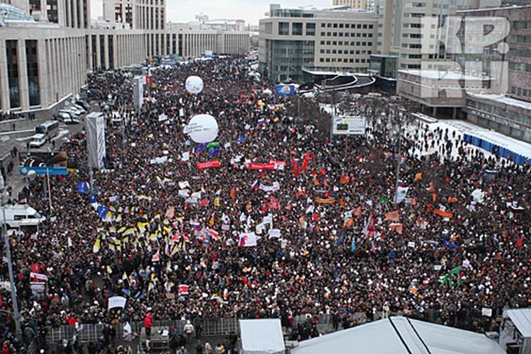 Чем больше людей на митинге, тем больше эйфория и сильнее эффект единого порыва