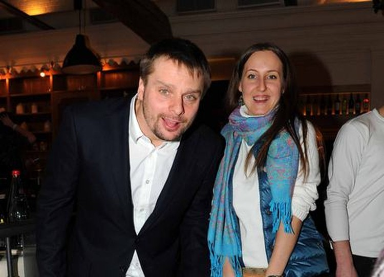 Александр Носик со спутницей Ольгой