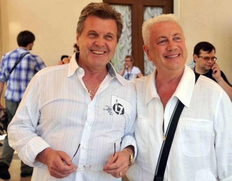 «Левчик и Вовчик» - так сами себя называют друзья навек Лещенко и Винокур.