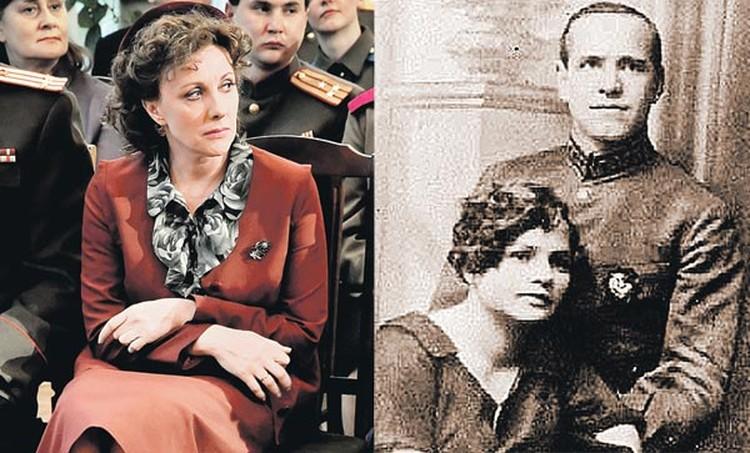 В новом фильме роль Александры Диевны (на фото справа) сыграла Елена Яковлева.