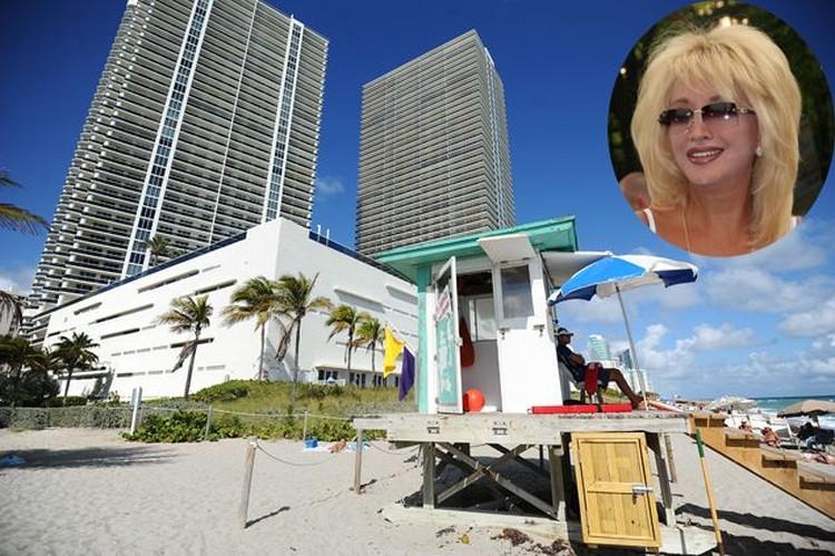 Элитные многоэтажки, где приобрела жилье певица Ирина Аллегрова, стоят прямо на пляже.