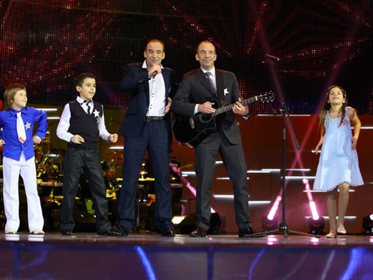 """На сцене телешоу """"Я пою!"""" братья Торсуевы встретятся с белорусскими детишками."""