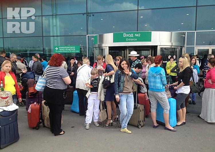 Из Домодедово не вылетели десятки клиентов «Идеального мира»