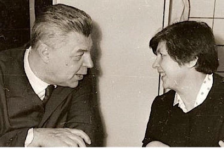 Иван Ефремов и его жена Тая.