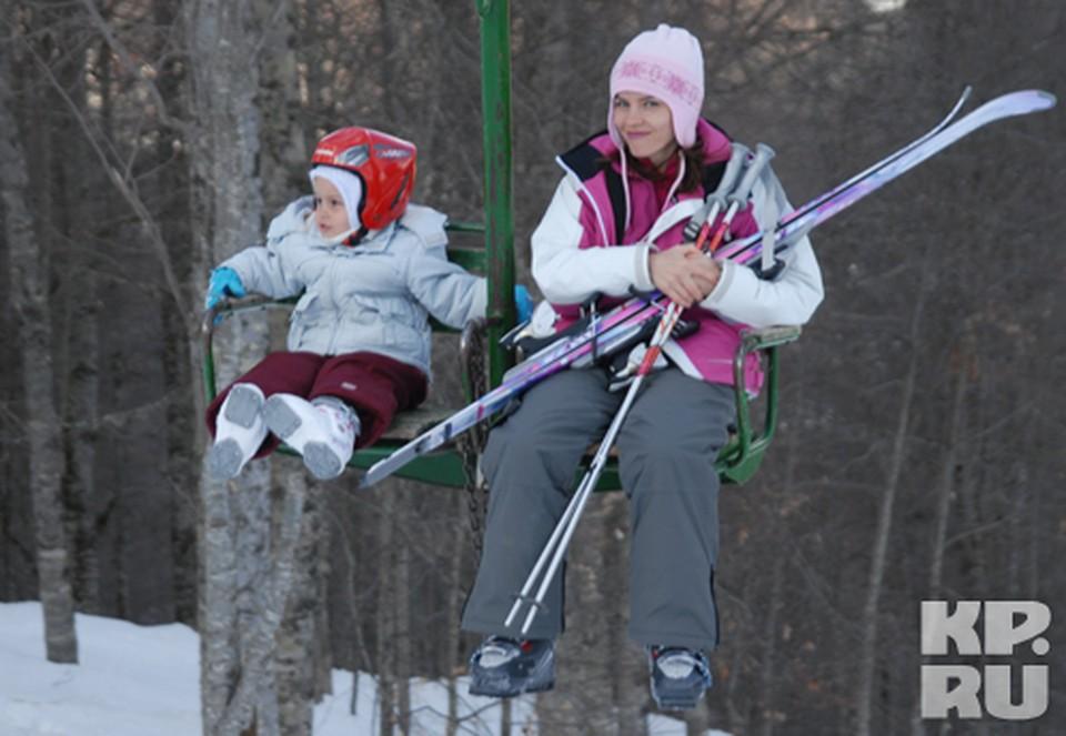 Чтобы покататься на горных лыжах, не обязательно ждать новогодних каникул