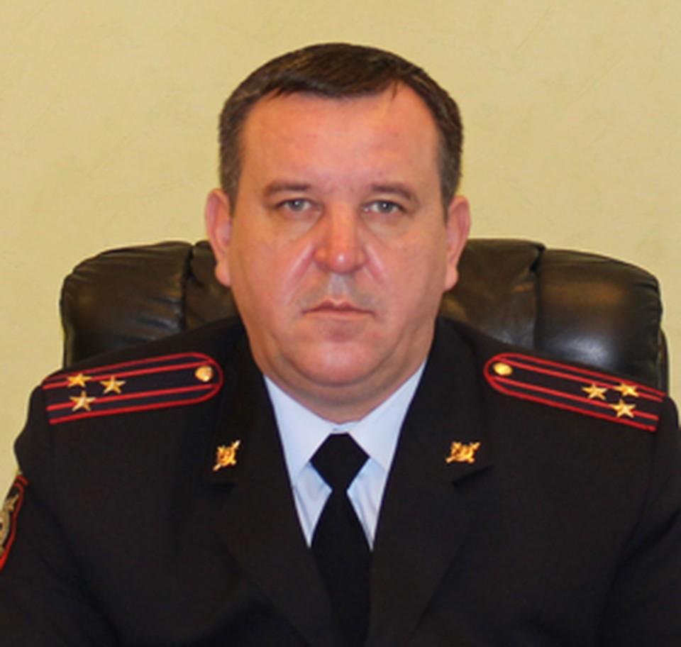 Полковник полиции Олег Широбоков.