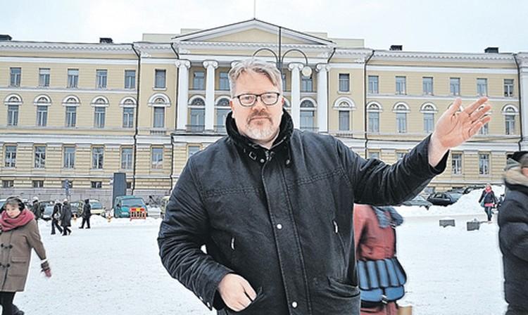 Хельсинкского университета доктора права Йохана Бэкмана выгнали