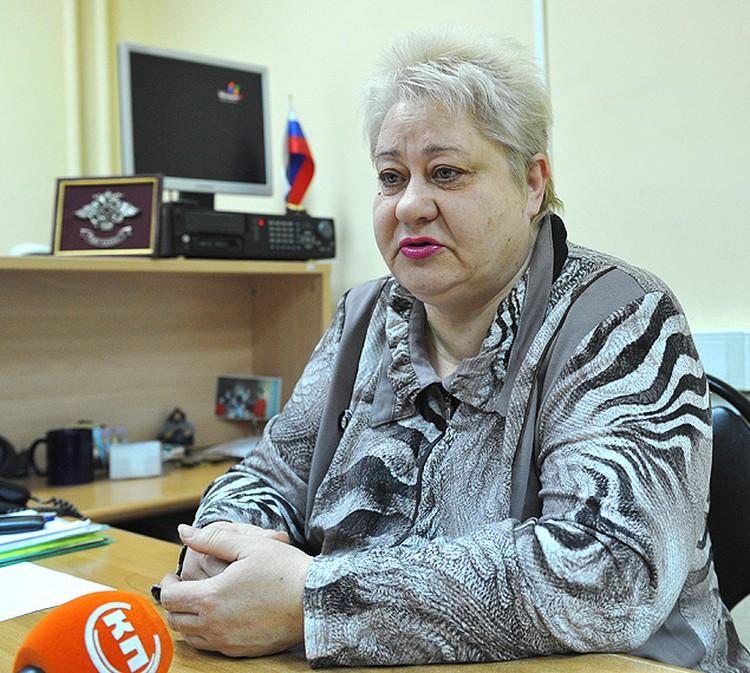 Начальник щелковского отела УФМС Галина Игнатьева