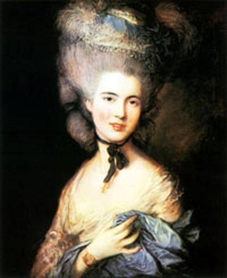 «Дама в голубом. Портрет герцогини де Бофор» оказалась в центре внимания.
