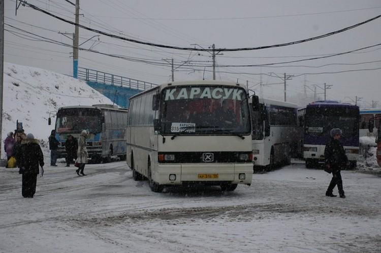 Из-за метели Новосибирский автовокзал отменил рейсы на всех направлениях.