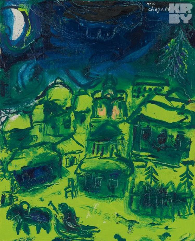«Зеленый пейзаж» (Paysage vert, 1948-1950) – $137 000.