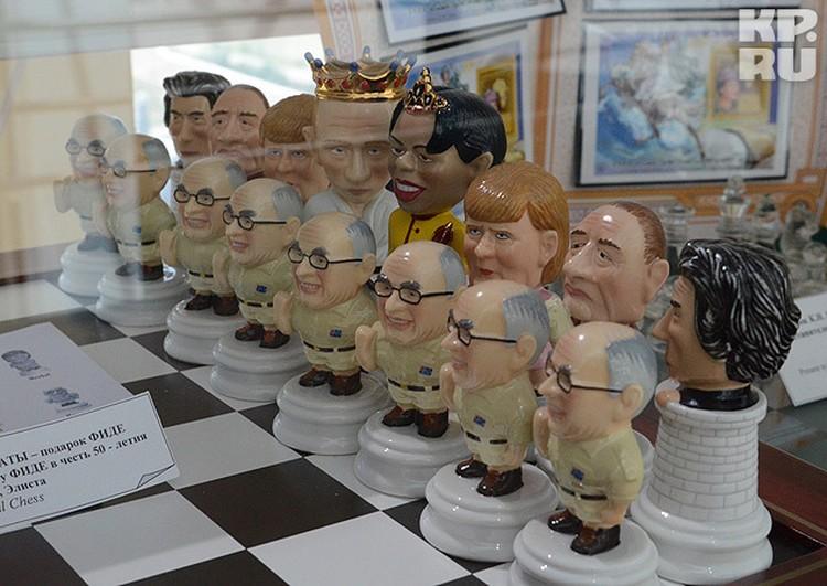 """""""Политические шахматы"""". Все, как в жизни."""