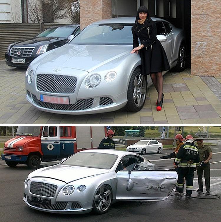 Подруга Захарова Марина Ермалович рассказывала журналистам, что за рулем сидела она. Хотя согласно протоколу за рулем был мужчина 1962-года года рождения.