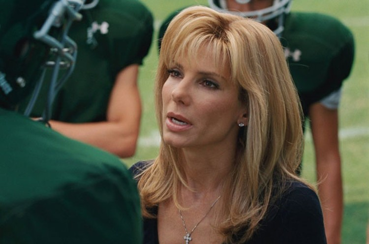 Sandra Bullock Didn't Fk With That Gaudy Orange Tennessee Players Wear