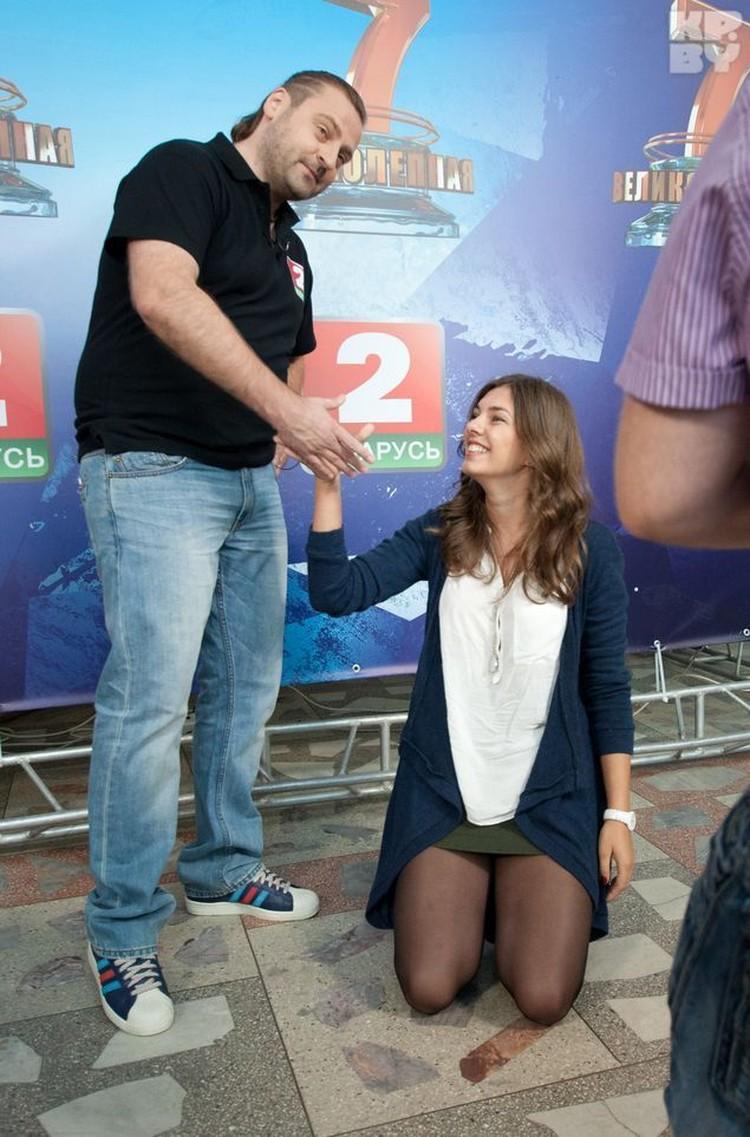 Такого желания попасть в шоу Пугач не ожидал и не сдержал улыбки