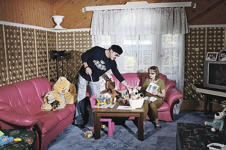 В доме Боярских - просторная детская для внуков.