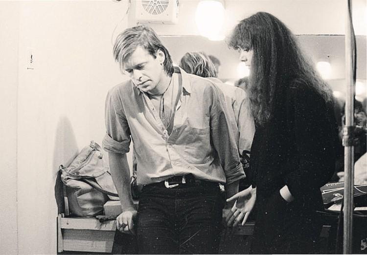 В гримерке со второй женой Людмилой Шурыгиной.