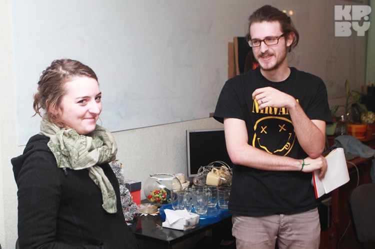 Регина и Михаэль три месяца пробыли в Беларуси. Говорят, что понравилось