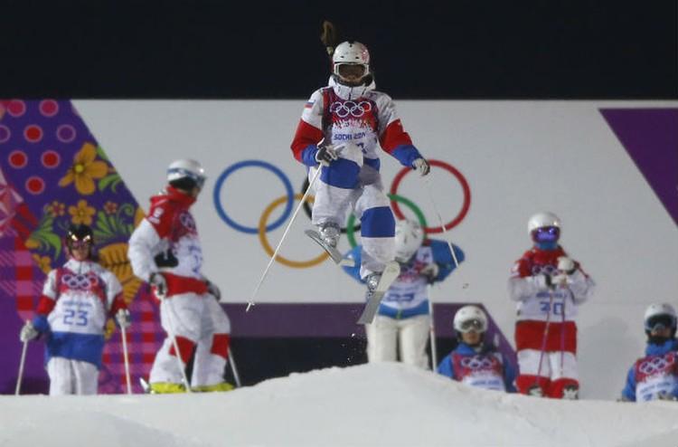 Мария Комиссарова во время тренировки. Друзья говорят, что все рассчитывали, что на Олимпиаде Маша попадет как минимум в шестерку лучших.