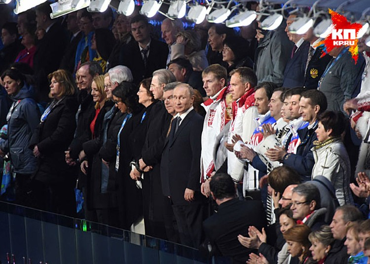 Reuters пишет, что успеху сочинской Олимпиады в немалой степени способствовала поддержка правительства РФ и лично президента Владимира Путина