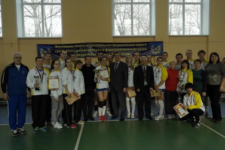 Сборная РязГМУ. Награды получены, впереди - новые победы!