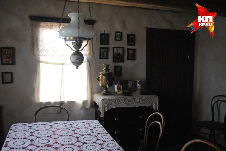 Дом Кошевых уже почти готов и изнутри.
