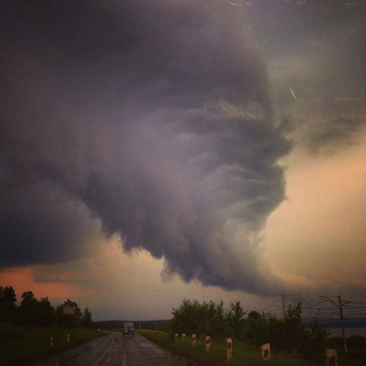 Такое явление увидели в небе миассцы сразу после урагана
