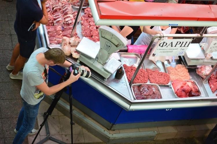 Центральный рынок Ростова вновь стал местом для съемок столичных телевизионщиков.
